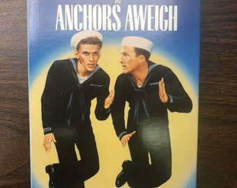Anchors Aweigh//VHS//Vintage Movies//Gene Kelly//Frank Sinatra