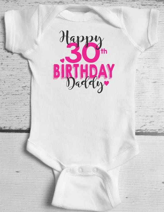 Alles Gute Zum Geburtstag Papa Baby Body Papas Geburtstag Etsy