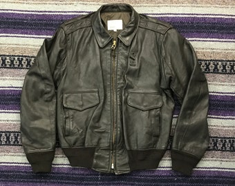 b61579aa2 A2 bomber jacket   Etsy