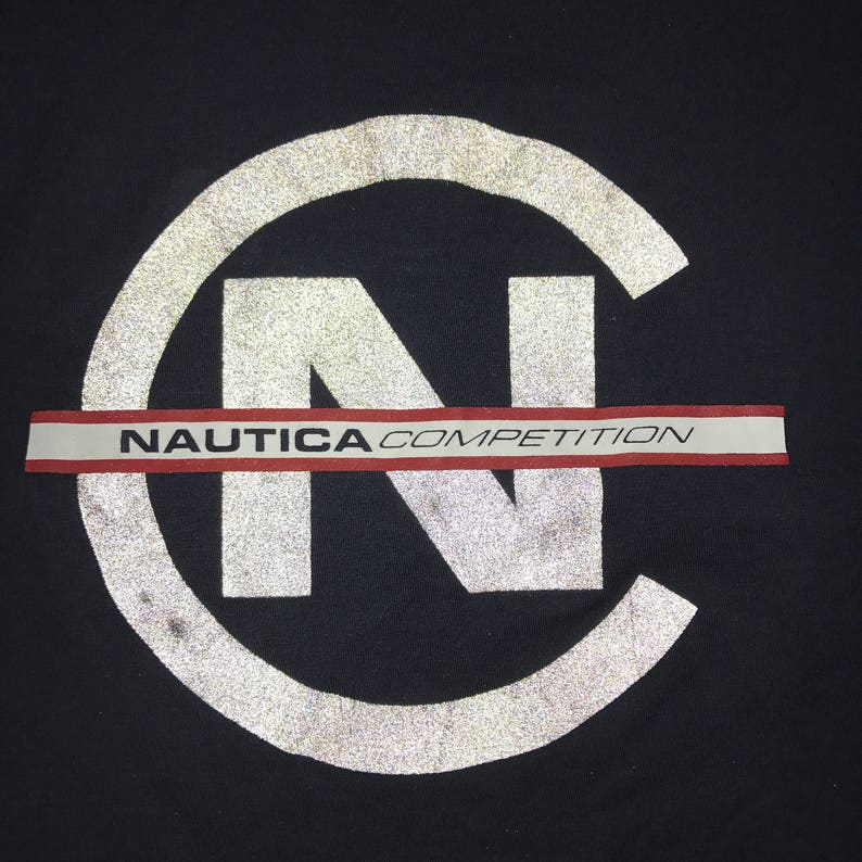 b5c9d1bb5e3ed Vintage Nautica Competition Jersey Tank Top Nautica Shirt 90s