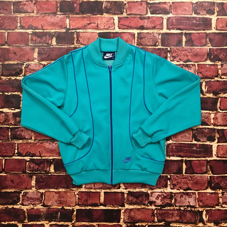 Vintage Nike Track Jacket Nike Tracksuit Full Zip Nike Jacket  a5c506ba1