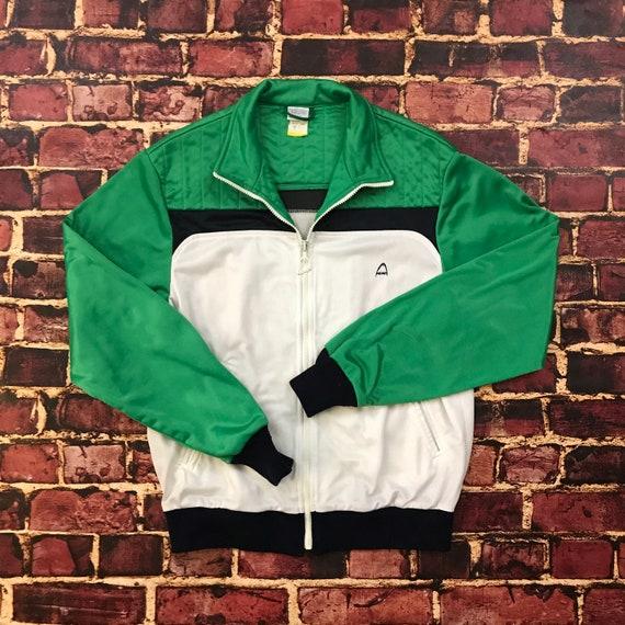 Vintage Track Jacket Tracksuit Top 80s Tracksuit Full Zip  2db710509