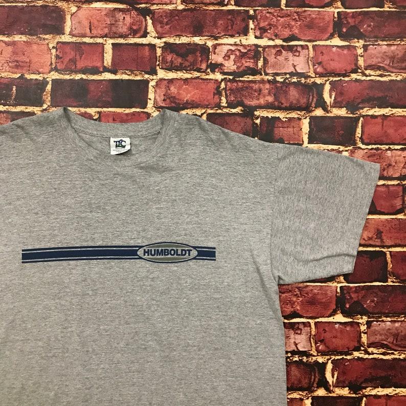 1da05b9dd Vintage Humboldt Shirt Graphic Tee Striped Distressed | Etsy