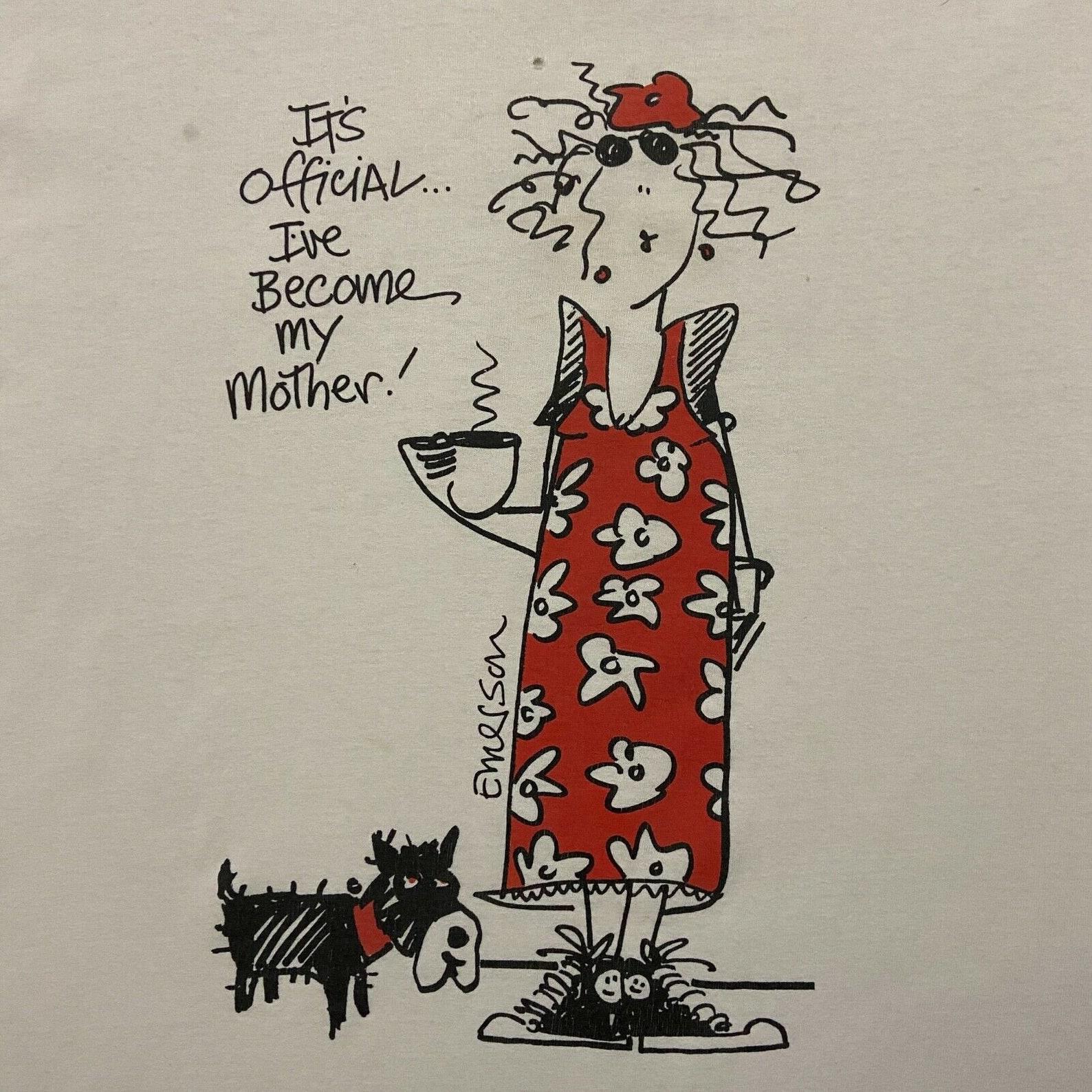 Vintage Shirt Ive werden meine Mutter Grafik Schlaf Tee