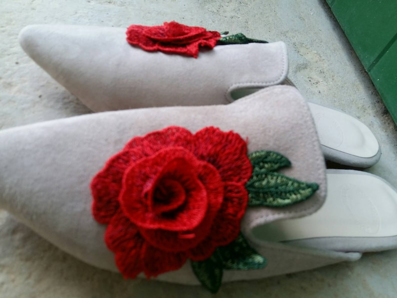 Mules made in Greece embroidered mules embroidered shoes Greek sandals leather mules flat mules slippers mule slip ons