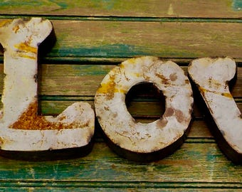 Rustic Love Sign