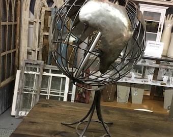 Rustic World Globe