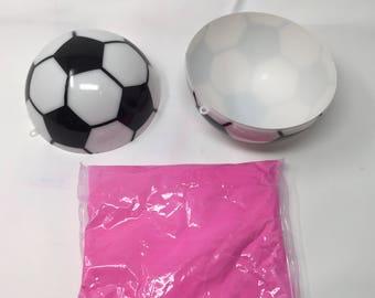Gender Reveal Soccer Ball Kit - Pink