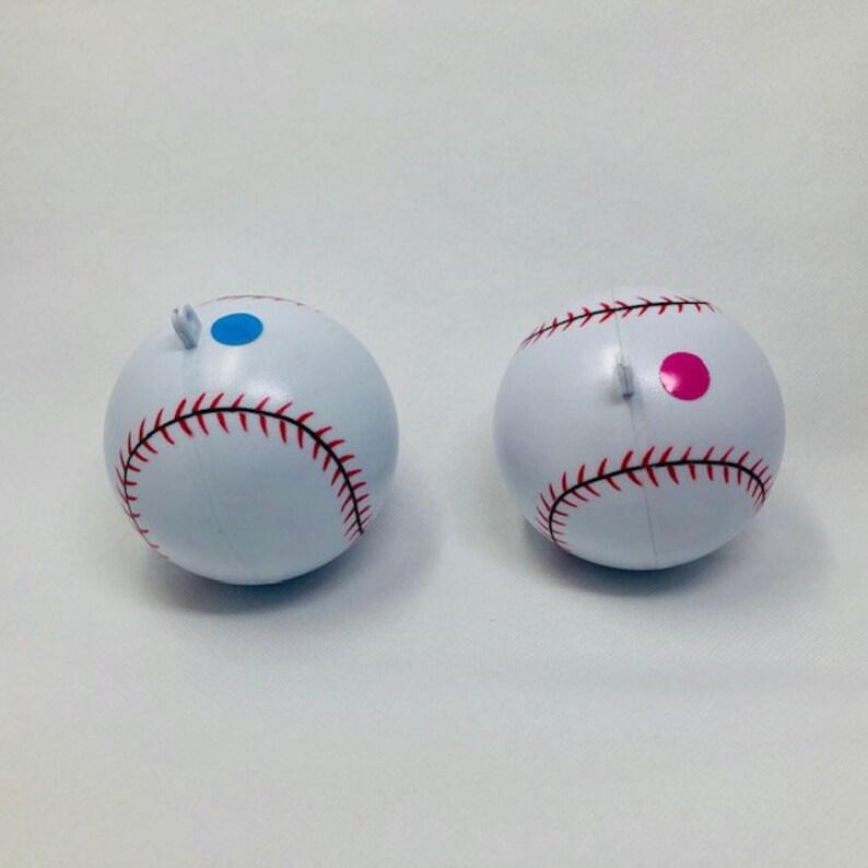Gender Reveal Baseballs (Pink and Blue)
