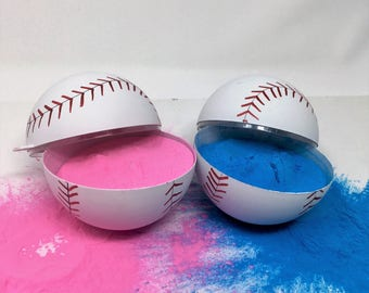 Gender Reveal Baseballs (Pink and Blue)
