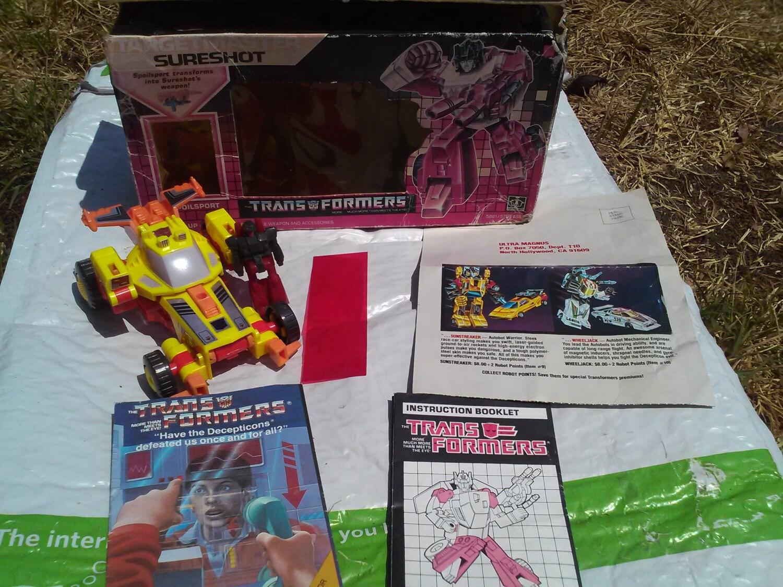Brawl Retro Transformers G1 Decepticon 80/'s collectible Magnet Art
