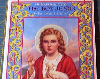 The Boy Jesus | Rare 1945 Pop Up Book | Daniel A Lord, S.J. | Vintage Catholic Children's Book | Catholic Children | Catholic Book