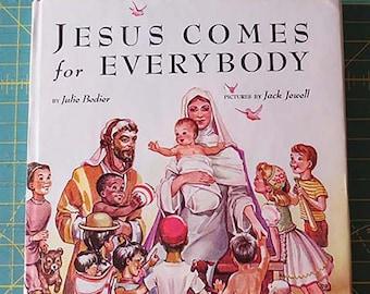 Jesus Comes for Everybody | 1948 First Edition | Vintage Catholic Children's Book | Catholic Children | Catholic Book
