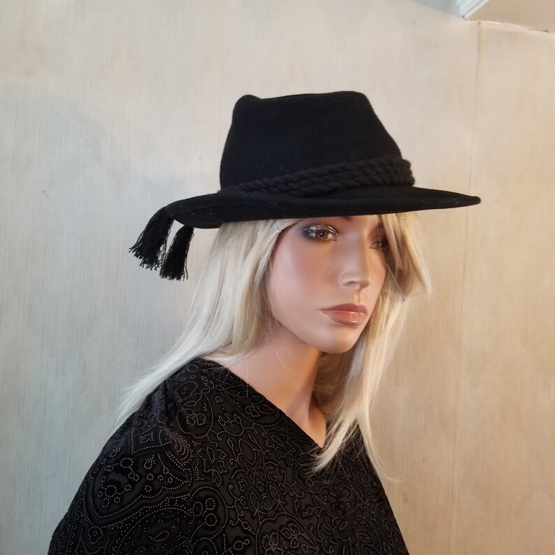 Alpin Sporthut Tyrolean Wool Felt Hat Church Hat Everyday Hat image 0