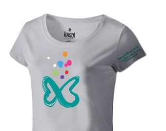 T-Shirt women logo neurodiversity - MEDIUM