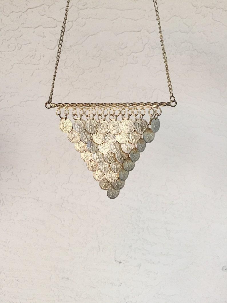 Vintage Gold Coins Necklace