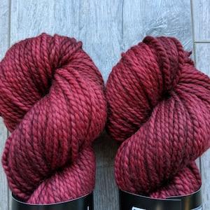 100/% Superwash Merino semi solid tonal medium brown Sweater weight yarn Clockwork Medium Weight yarn Worsted weight merino yarn