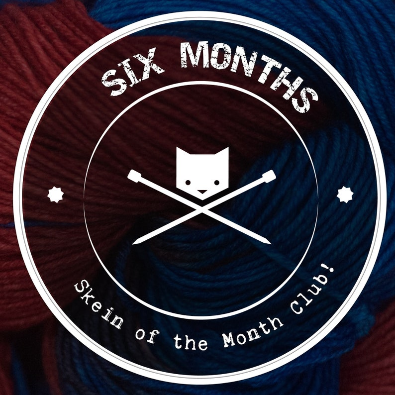 Yarn of the Month  Yarn Club Subscription  Exclusive Indie image 0
