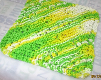 KNIT FACECLOTH