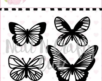 Butterflies cut file. For scrapbooking and paper crafting