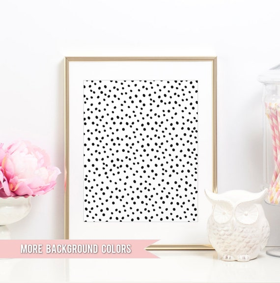 Dalmatian Pattern Print   Dalmatian Spots Spotted Black And White Dalmation Pattern   Gallery Wall Art Prints   Home Office Wall Art Prints by Etsy