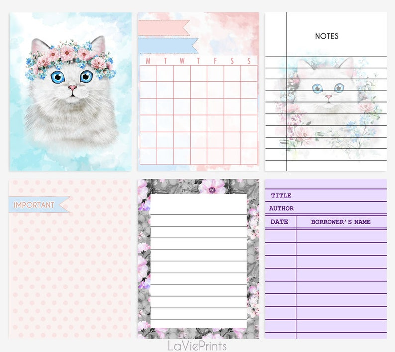 image relating to Free Printable Journaling Cards referred to as Printable Journaling playing cards, 3x4 pocket playing cards for Sbooking, Undertaking Lifetime motivated playing cards, planner inserts, Printable notes web page/lists/cats
