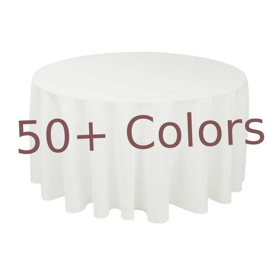 90 Round Table Clothlinen TableclothBlack | Etsy