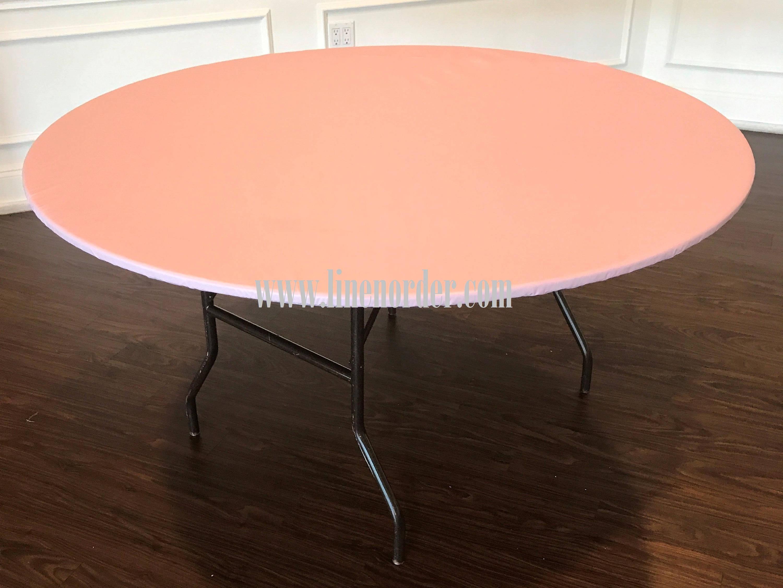 36 round vinyl elastic table covers vinyl round elastic etsy rh etsy com elastic table covers walmart elastic table covers oblong
