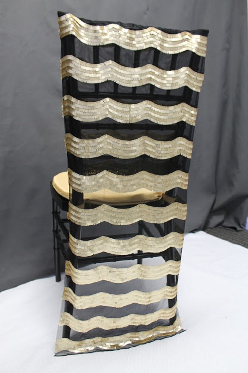 Magnificent Black And Gold Sheer Chiavari Chair Tail Satin Chair Cover Polyester Chair Cover Closeout Chair Cover Sale Alphanode Cool Chair Designs And Ideas Alphanodeonline