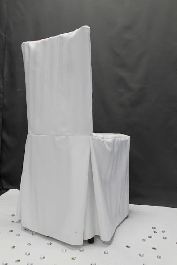 Groovy White Satin Stripe Chiavari Chair Cover Satin Chair Cover Polyester Chair Cover Closeout Chair Cover Sale Alphanode Cool Chair Designs And Ideas Alphanodeonline