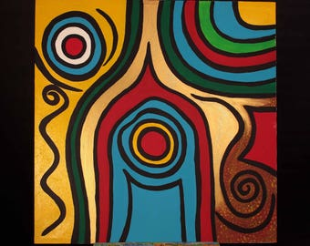 5 new paintings / awareness traveler Collection / acrylic on canvas