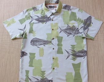 Camicia Hawaiana 4XL 100/% cotone XL Hawaiiana Hawaii Hawai uomo Giungla