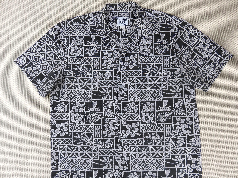 f4180ccc9 Hawaiian Shirt Men PARADISE STYLE Aloha Shirt Hawaii Tropical | Etsy