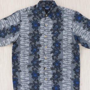 Vintage Hawaiian Shirt TORI RICHARD Asian Inspired Aloha Shirt Island Surfer Paradise Beach Huts Mens Camp L Oahu Le/'w/'s Shirt Shack