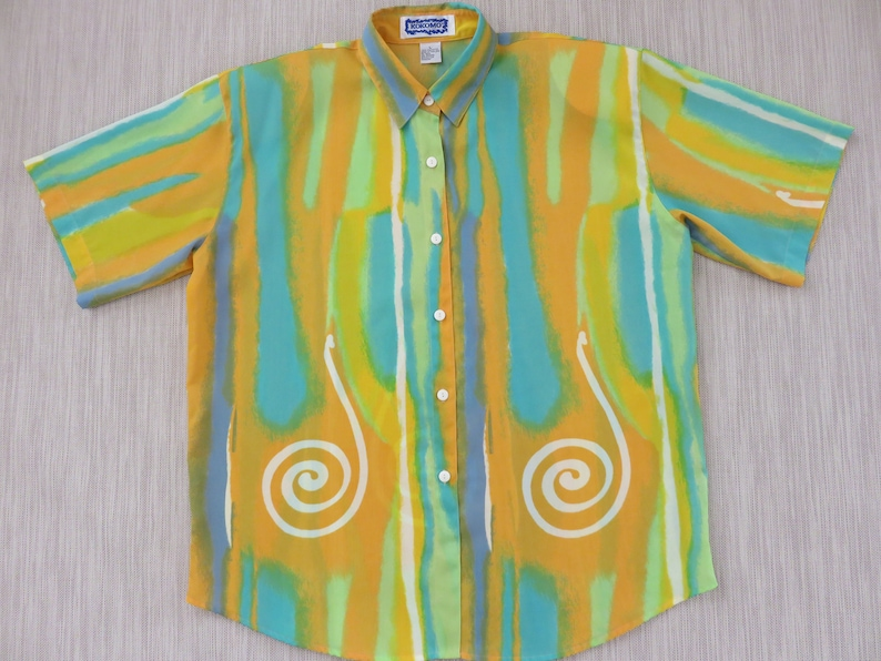 e98539d5 Vintage Hawaiian Shirt Vintage 80s Shirt KOKOMO Beach Boys | Etsy