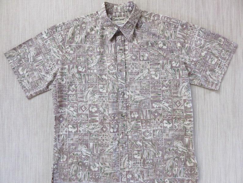 828fadfd Hawaiian Shirt Men COOKE STREET Aloha Shirt Reverse Print | Etsy