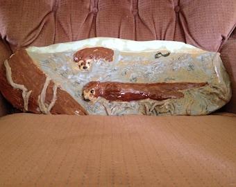 Decorative Otter Ceramic