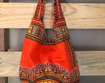 Orange Reversible Bag