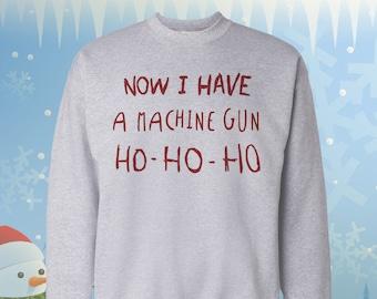 Die Hard Christmas Sweater Etsy