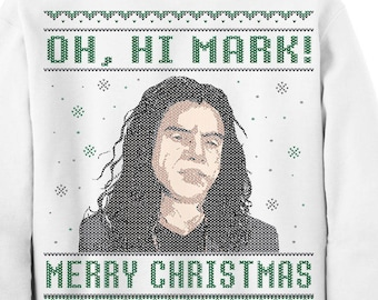 Happy Holiday Humans Ugly Christmas Sweater Xmas Robot Etsy