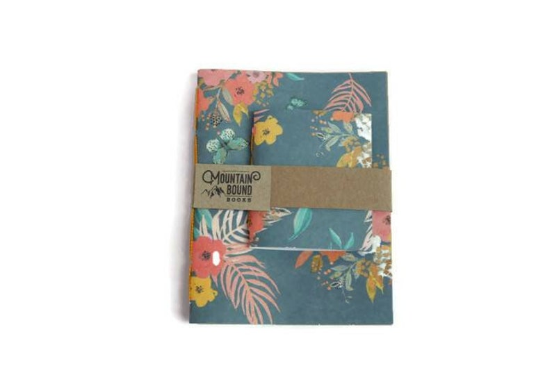 1 recycled notebook INDEPENDENCE BOUQUET design Zero Waste image 0