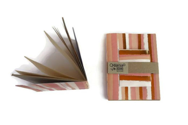 1 recycled notebook PINK PASEO WALLS design Zero Waste image 0