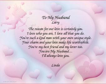 My husband for poem 21 Husband