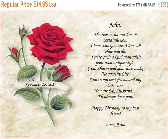 sale red rose happy birthday to my best friend art etsy