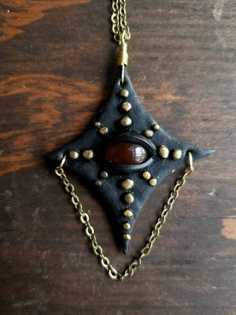 Eye star necklace