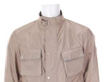 29dcf278a1 Belstaff Motorcycle jacket 3M REFLECTIVE Made in Italy Beige XL