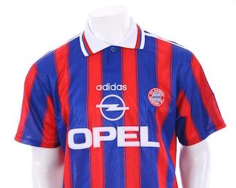 355c080f372 Vintage Adidas Bayern Munich home football shirt from the 1995 1996 season  Size XL