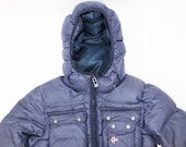 Helly Hansen Men 39 s Goose Down Dun Duvet Outdoor Hooded Puffer Parka Jacket sz S