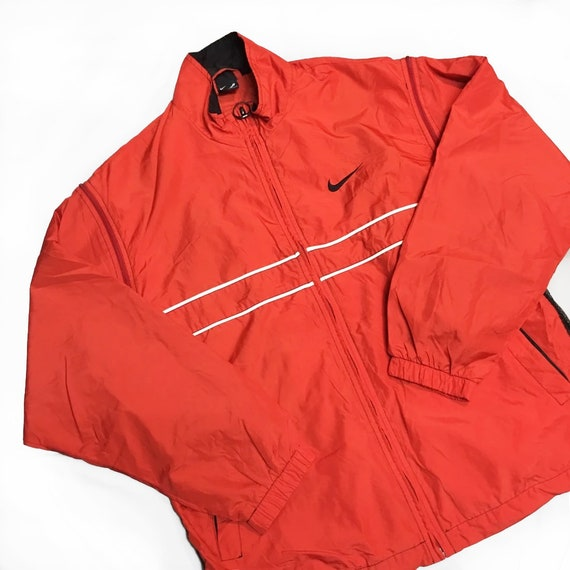 Vintage Nike Agassi Windbreaker jacket removable s