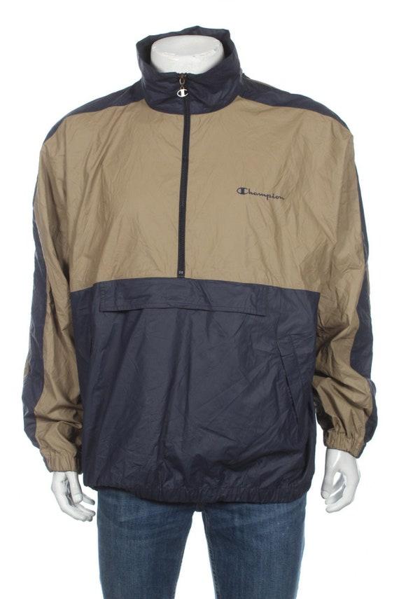 Adidas Anorak Vintage Pullover Half Zip Windbreaker Jacket